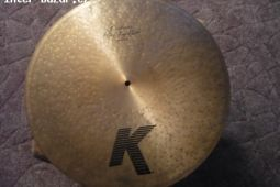 Zildjian K Custrom Flat top ride 20""